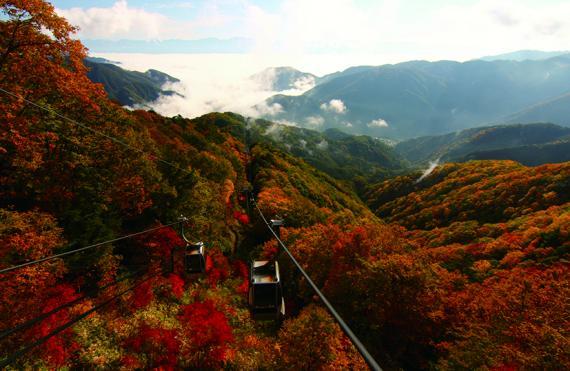 富士見台高原ロープウェイ ヘブンスそのはら