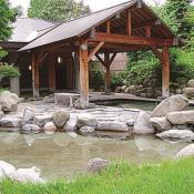 アルプス温泉博物館湯けむり屋敷 薬師の湯
